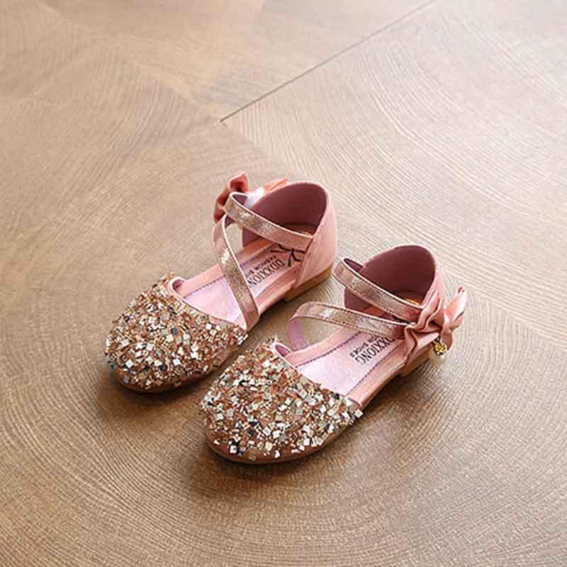 Piuttosto Glitter Paillettes Ballerine per Bambino Bambina e Ragazza