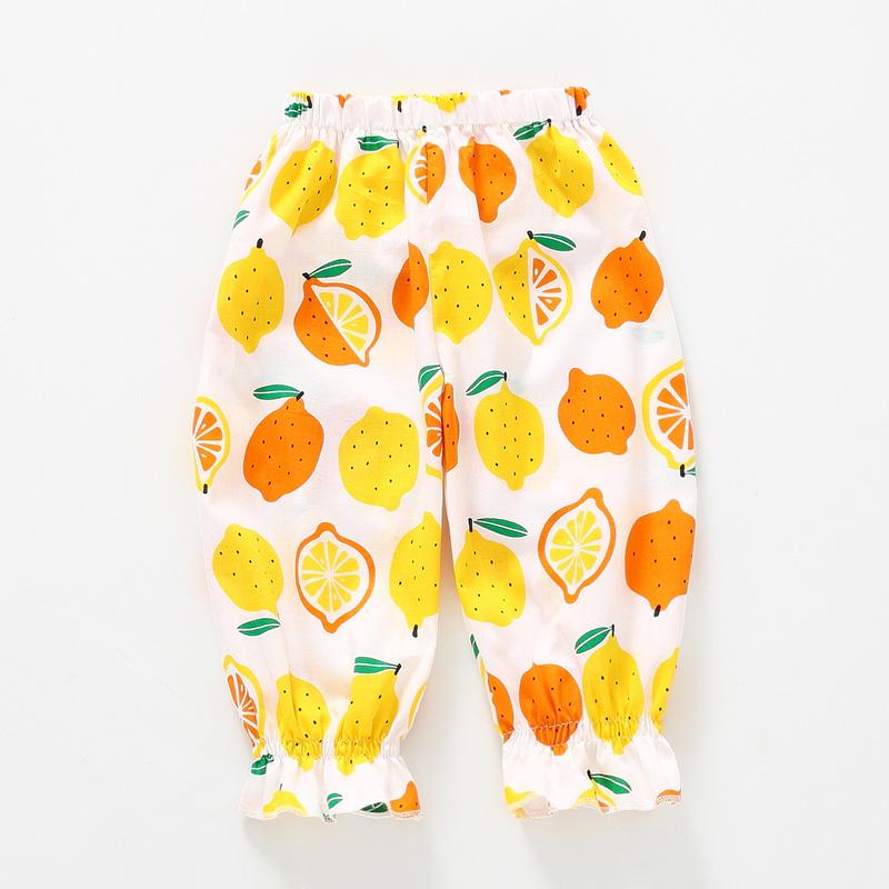 Baby / Toddler Stylish Lemon Allover Breathable Trouser