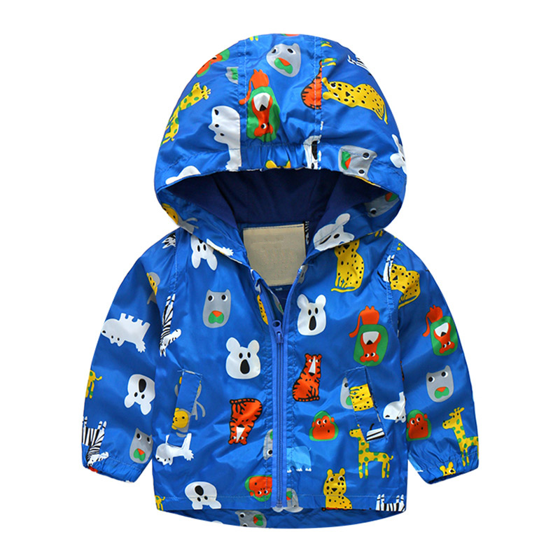 Купить со скидкой Cat Pattern Yellow Zip-Up Hooded Jacket for Baby & Boys