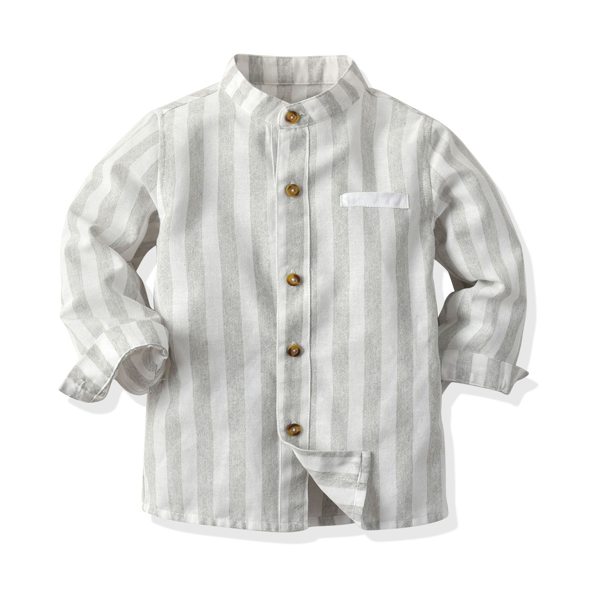 Купить со скидкой Baby / Toddler Colorblock Striped Long-sleeve Shirt
