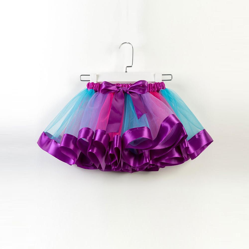 义乌昌旺服饰有限公司 / Arco saia decoração tutu bonito em roxo para menina da criança e menina