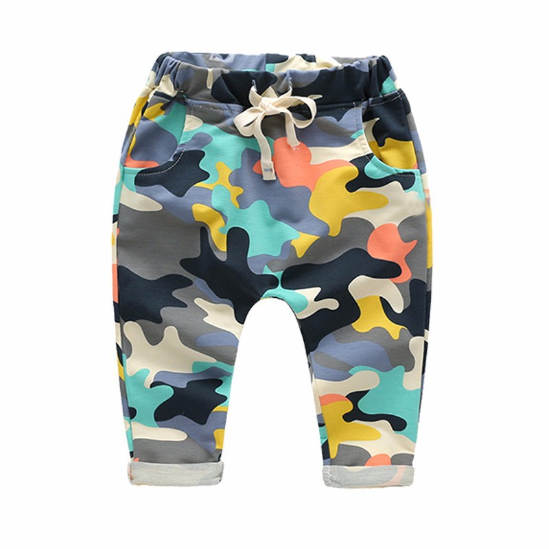 Купить со скидкой Stylish Camouflage Pants for Baby and Toddler Boy