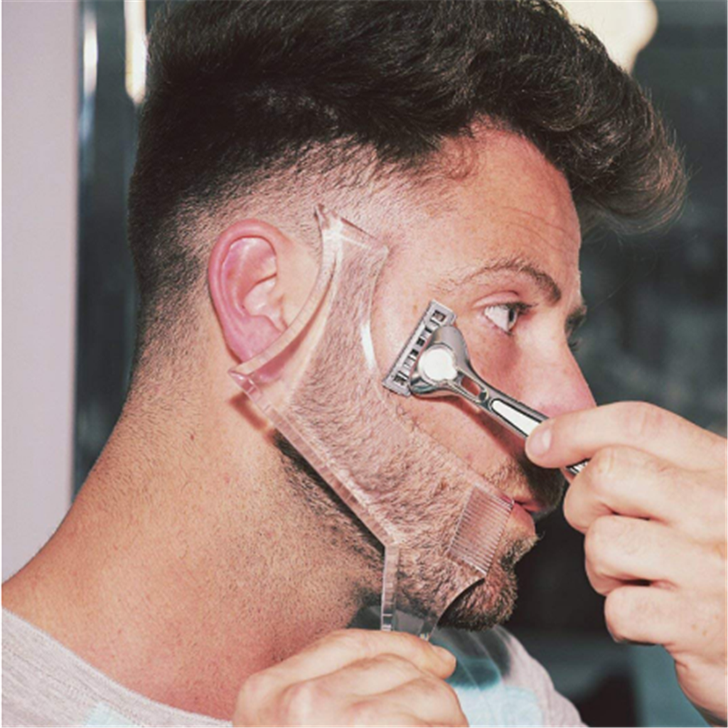 Barbe Rasage Modèle Avec Peigne