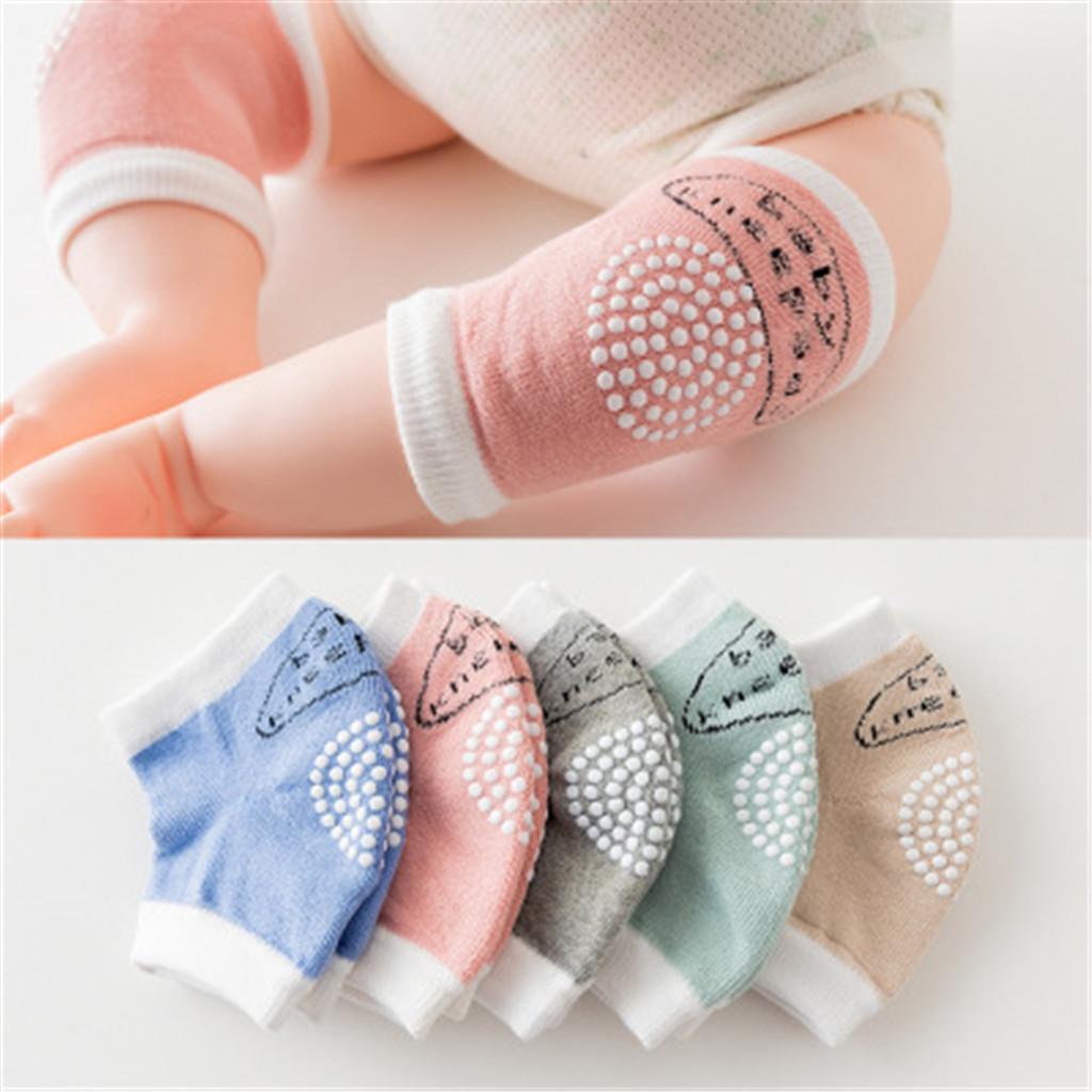 3-pares Confortável Antiderrapante Joelho Almofada para Bebé