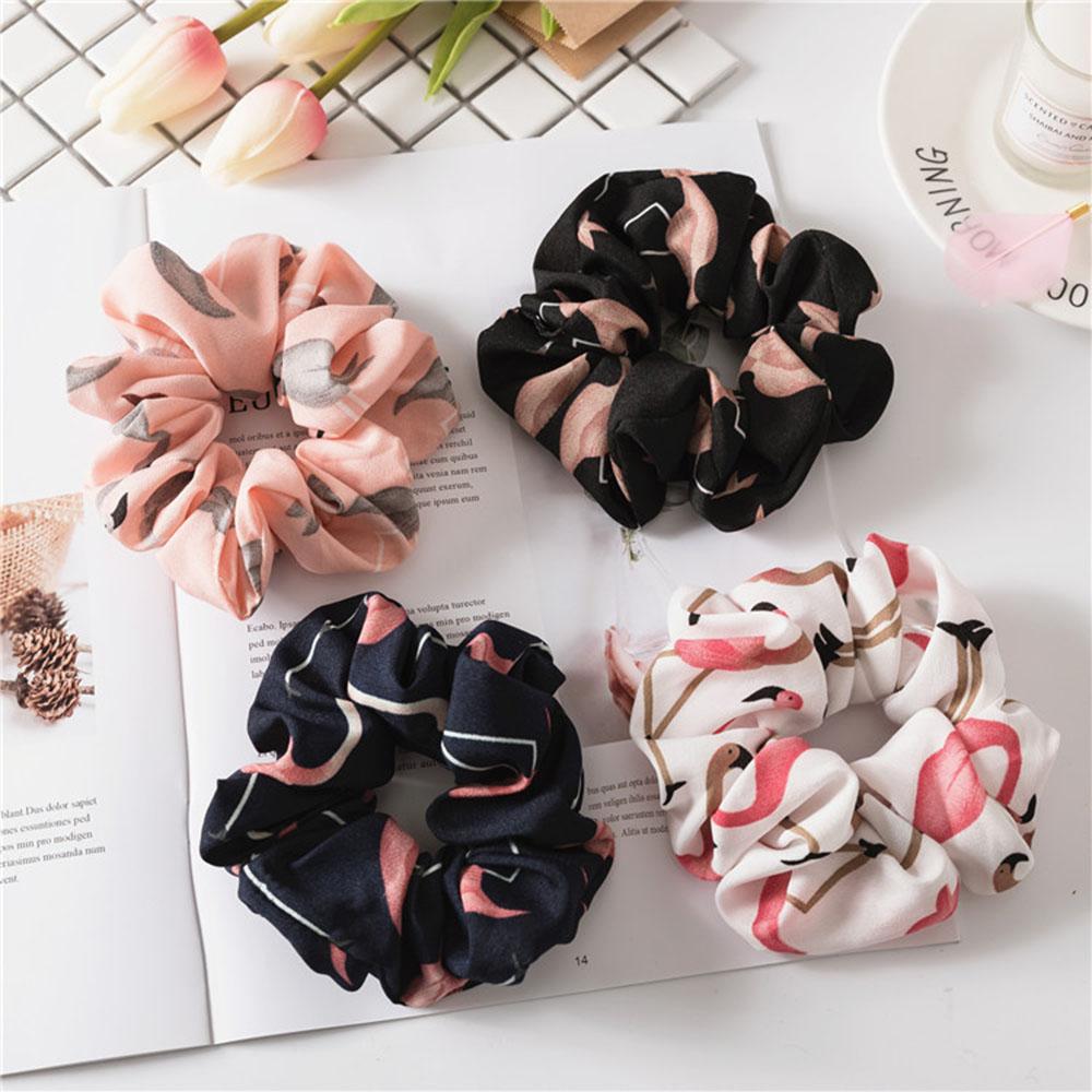 4 Pcs Flamingo Imprimer Accessoires Pour Les Cheveux