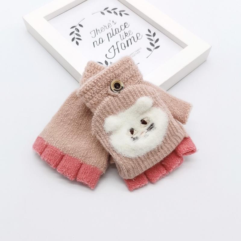 Bebê / Criança Adorável Urso De Luvas De Malha
