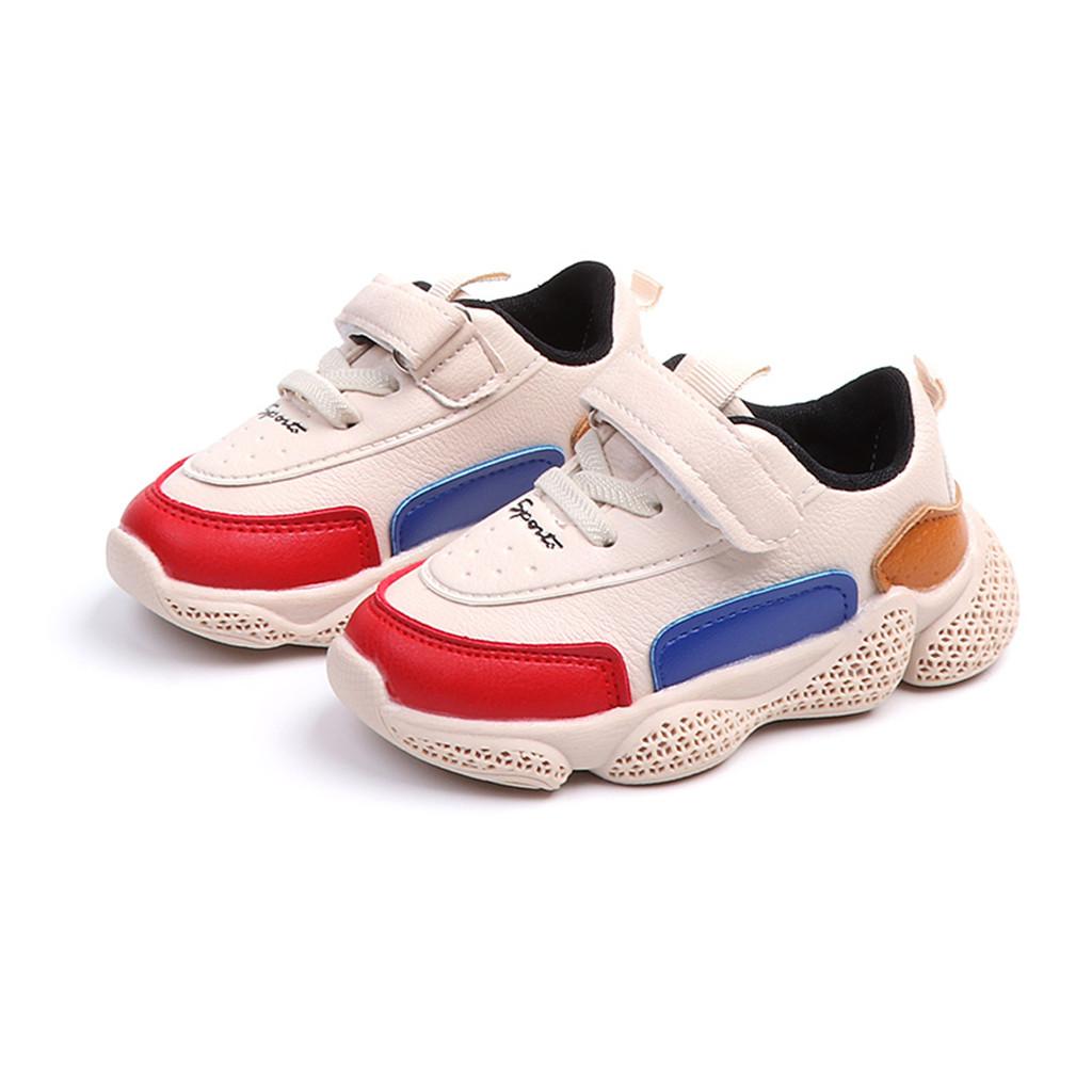 Sportlich Farbe Blockiert Sneakers für Kleinkind