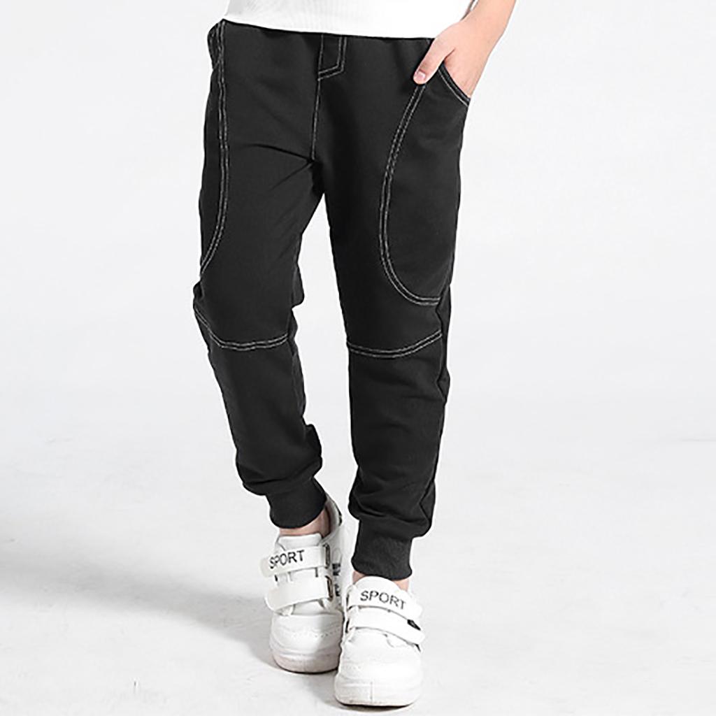 PatPat / Sporty Solid Pocket Design Pants
