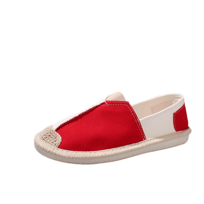 Tecido Confortável sapatilha