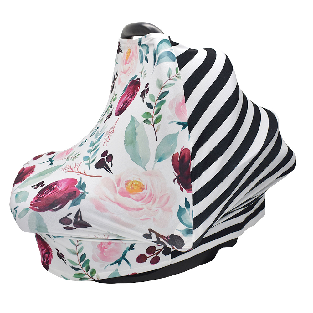 Baby Shopping Cart Cover Breastfeeding Carseat Privacy Nursing Cover Baby Carseat Canopy
