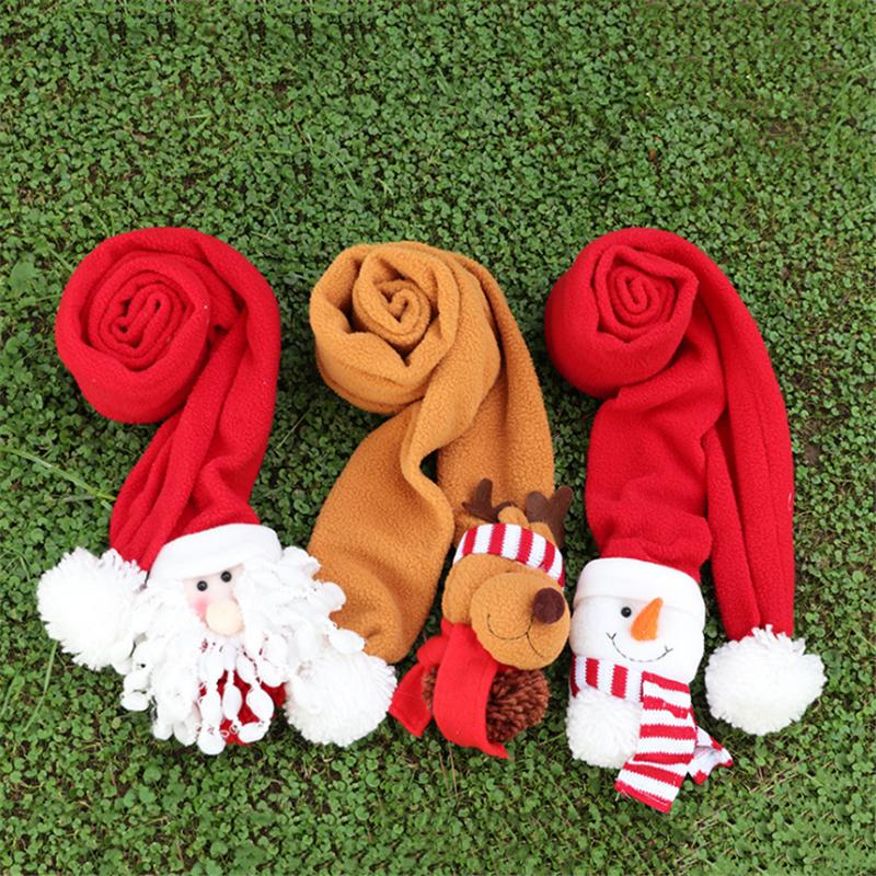 Bebê / Criança Encantador Estilo De Natal Pompon Cachecol