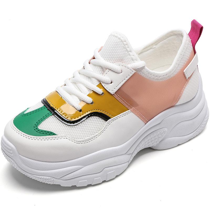 Trendiges Colorblock Sneakers