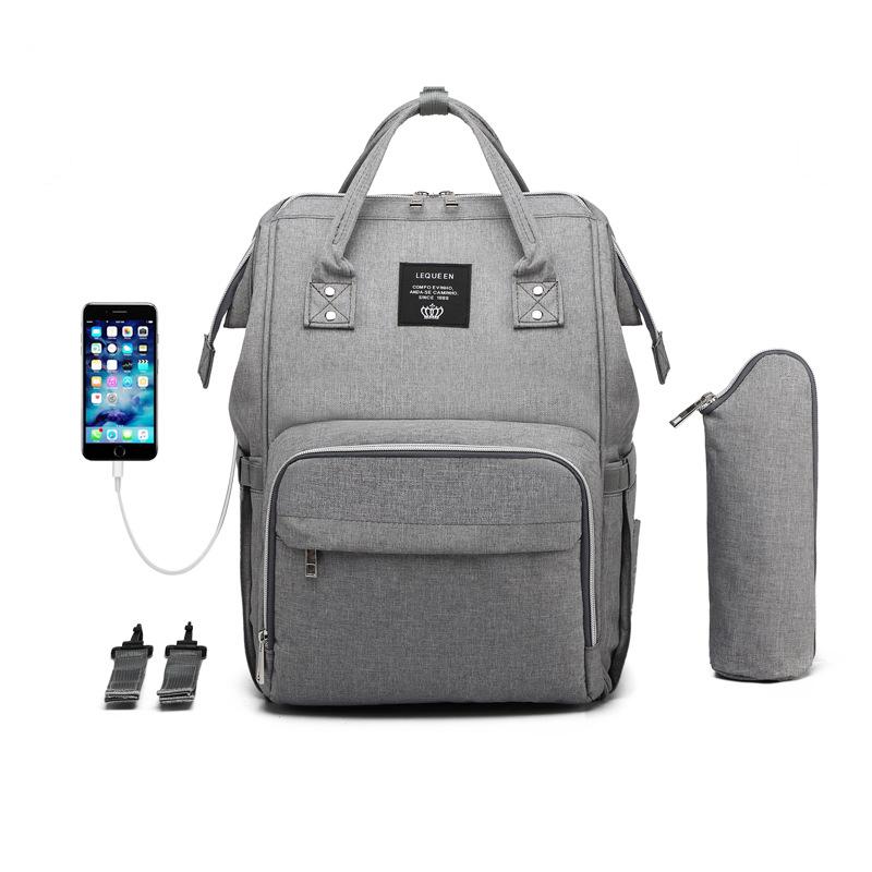 USB-Heizung mit Großer Kapazität Windel Tasche Rucksack