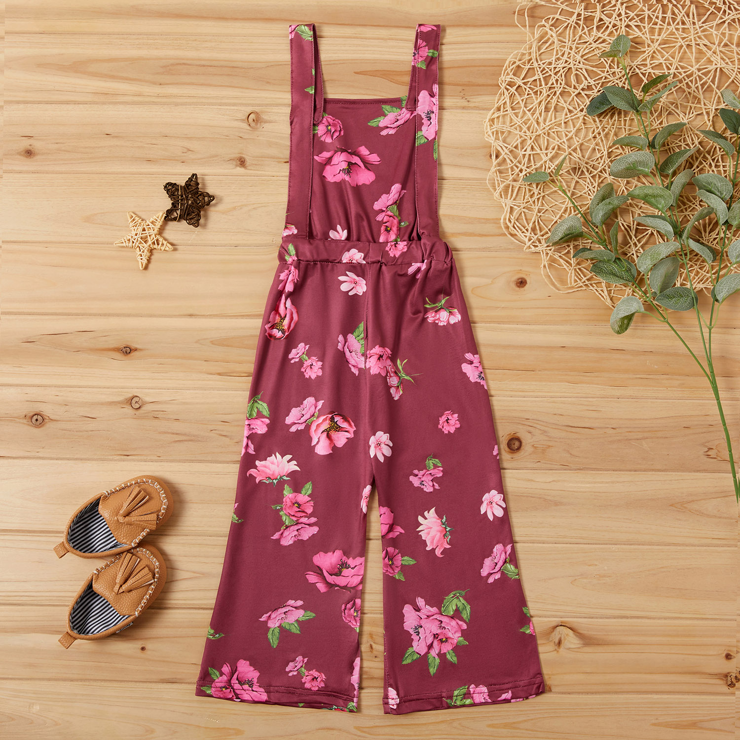 Baby / Toddler Girl Pretty Floral Allover Strappy Onesies