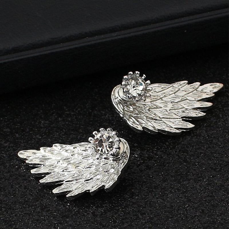 Image of 1-pair Gli orecchini eleganti ali di progettazione per le donne