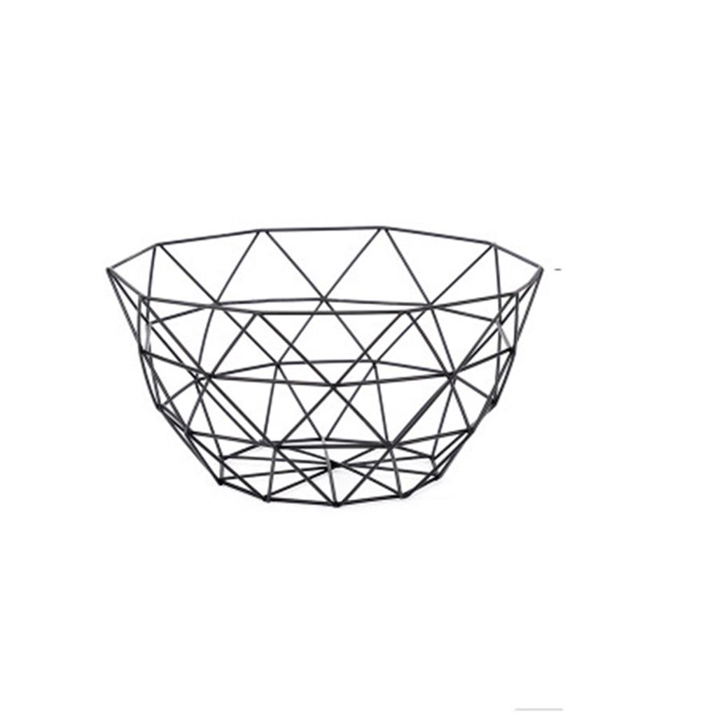 Image of 1 pc snack ferro arte creativa del desktop di frutta stoccaggio basket-l